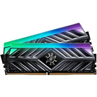 16GB DDR4 AData (2x8GB) 3200Mhz XPG Spectrix D41 RGB AX4U320088G16A-DT41 Tungsten Grey RAM