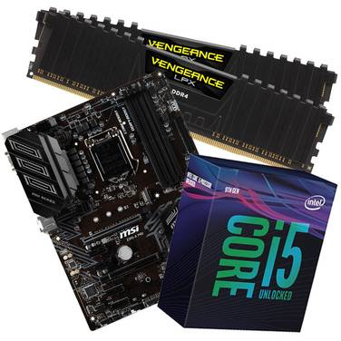 Intel 9600K Enthusiast Gaming Combo