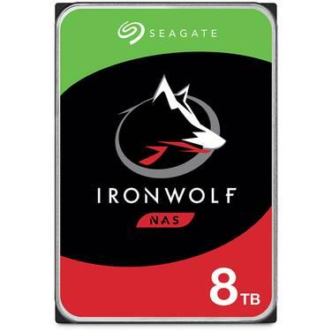 8TB Seagate 3.5 7200rpm SATA IronWolf NAS HDD PN ST8000VN004