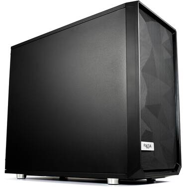 Fractal Design ATX Meshify S2 Black Solid Panel Case (No PSU) PN FD-CA-MESH-S2-BKO