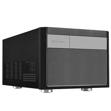 SilverStone Sugo Series SG11 Black Micro ATX Case (No PSU)