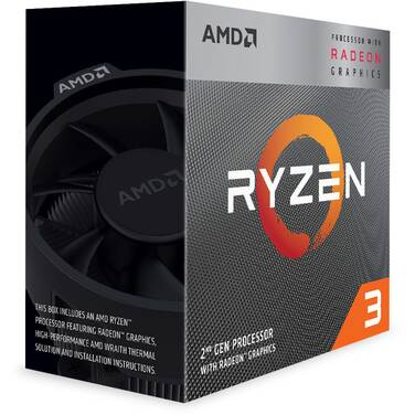 AMD AM4 Ryzen 3 3200G Quad Core 3.6GHz 65W CPU YD3200C5FHBOX with Vega 8 Graphics