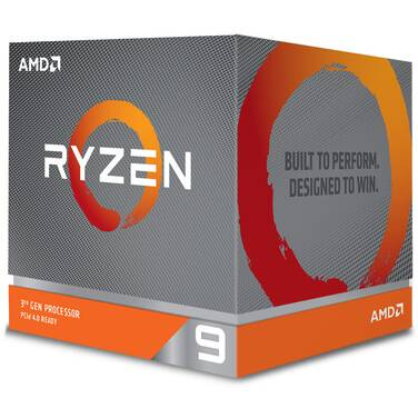 AMD AM4 Ryzen 9 3900X Twelve Core 3.8GHz 105W CPU 100-100000023BOX