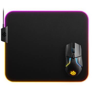 SteelSeries QCK PRISM RGB Gaming Mouse Pad 63391
