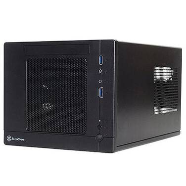 SilverStone Mini-ITX Sugo Series SG05 Black Case (No PSU)
