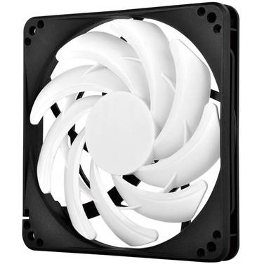 120mm SilverStone FN123 Case Fan, Slim Profile of 15mm Thickness
