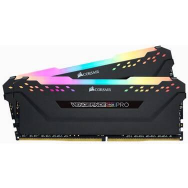 16GB DDR4 Corsair (2x8GB) 3600MHz Vengeance RGB Pro CMW16GX4M2Z3600C18