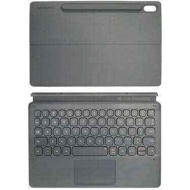 Samsung Tab S6 Keyboard Cover Grey PN EF-DT860UJEGWW