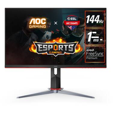 23.8 AOC 24G2 FHD 144Hz IPS LED Gaming Monitor with Height Adjust