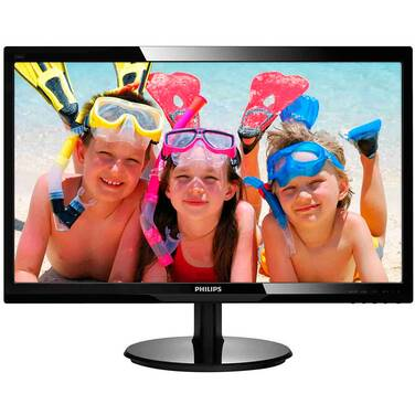 24 Philips 246V5LHAB TN Monitor with Speakers