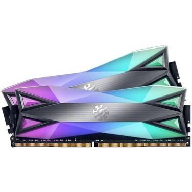 16GB DDR4 ADATA (2x8GB) 3600Mhz XPG Spectrix D60G RGB RAM PN AX4U360038G18A-DT60