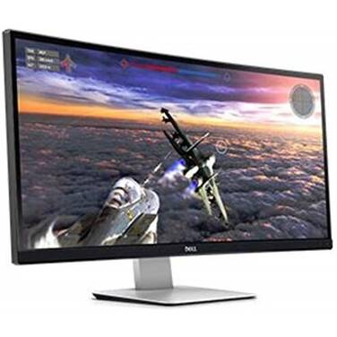 34 Dell U3415W UltraSharp Curved IPS Monitor with Speakers