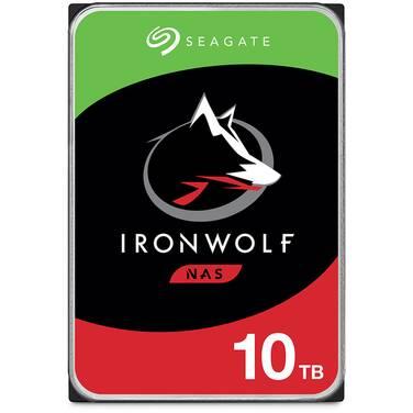 10TB Seagate 3.5 7200rpm SATA IronWolf NAS HDD PN ST10000VN0008