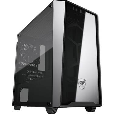 Cougar MicroATX MG120-G Tempered Glass Case Black (No PSU)