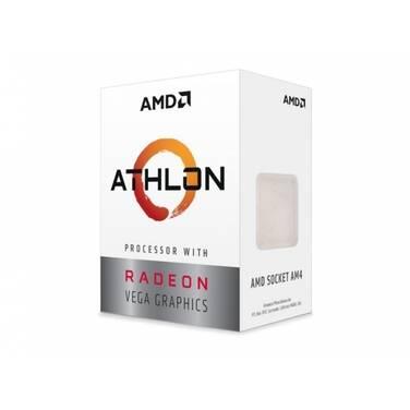 AMD AM4 Athlon 3000G Dual Core 3.5Ghz Vega 3 Graphics CPU PN YD3000C6FHBOX