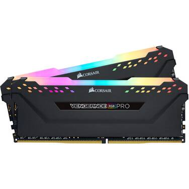 32GB DDR4 Corsair (2x16GB) 3200MHz Vengeance RGB Pro CMW32GX4M2E3200C16 Ram Kit