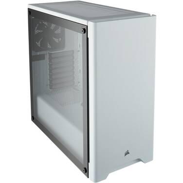 Corsair ATX Carbide 275R TG Case White (No PSU) PN CC-9011133-WW