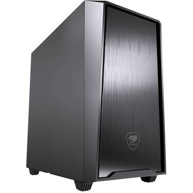Cougar MicroATX MG130 Case Black (No PSU)