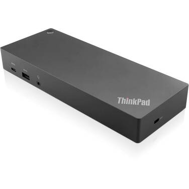 Lenovo ThinkPad USB C with USB A Docking Station PN 40AF0135AU