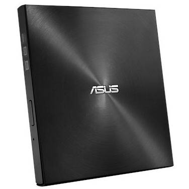 ASUS USB Type-C External ZenDrive U9M Slim DVD Writer Black PN SDRW-08U9M-U