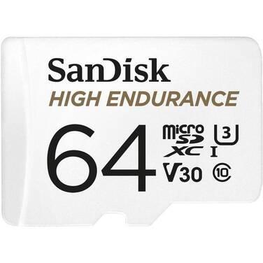 64GB SanDisk MicroSD High Endurance Class 10 Memory Card PN SDSQQNR-064G-GN6IA