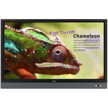 55 BenQ RM5501K 4K Touch Interactive Flat Panel (CALL for Education and Corporate Pricing)