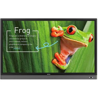75 BenQ RM7501K 4K Touch Interactive Flat Panel (CALL for Education and Corporate Pricing)