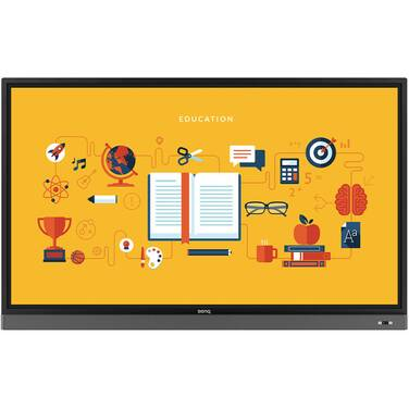 86 BenQ RM8601K 4K Touch Interactive Flat Panel (CALL for Education and Corporate Pricing)