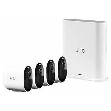 Arlo Pro 3 VMS4440P-100AUS 4x Camera Indoor/Outdoor Wire-Free 2K QHD Security System