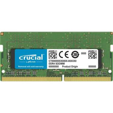 16GB SODIMM DDR4 Crucial 3200MHz RAM for Notebooks CT16G4SFD832A