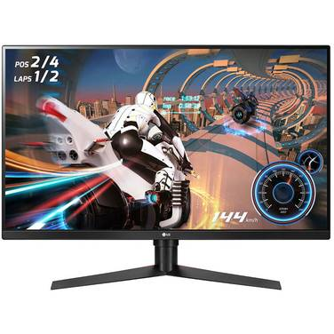 32 LG 32GK850F-B QHD LED Monitor with Height Adjust
