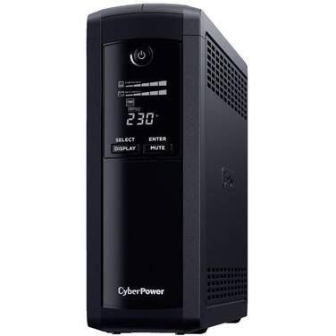 1600VA CyberPower VP1600ELCD Value Pro 960W Line Interactive UPS