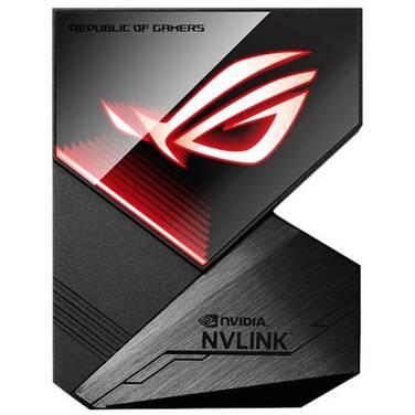 ASUS ROG-NVLINK-4 4 Slot SLI Bridge with Aura RGB Sync