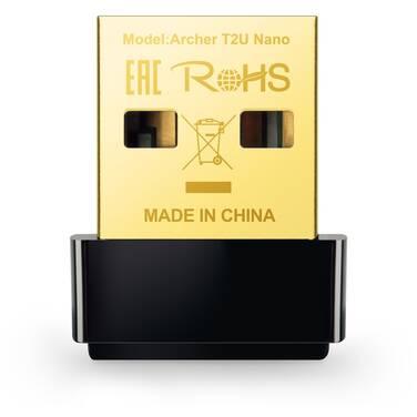 TP-Link Archer T2U NANO Dual Band Wireless-AC600 USB Network Adapter