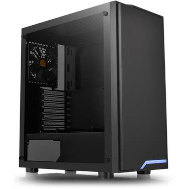 Thermaltake ATX H100 TG Case Black (No PSU) CA-1L4-00M1WN-02