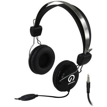 Shintaro SH-105MC Stereo 3.5mm Combo Headset with Inline Microphone