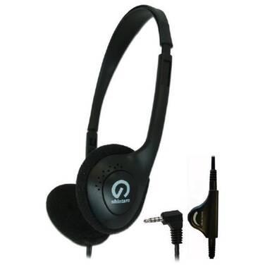 Shintaro Over Ear Light Weight 3.5mm Stereo Headset SH-101