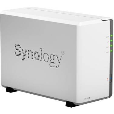 2 Bay Synology DS220J DiskStation Gigabit NAS Unit
