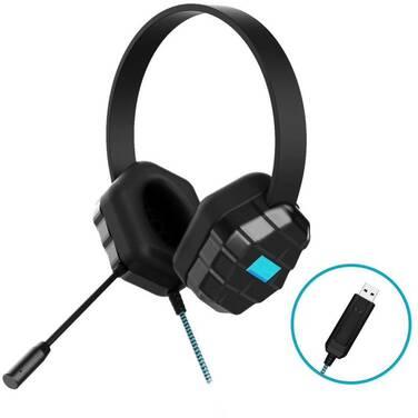 Gumdrop DropTech USB B2 Rugged Headset PN 01H004