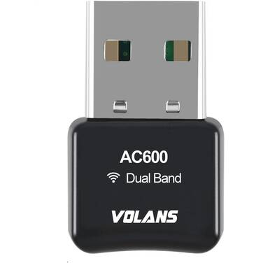 Volans VL-UW60-FD Dual Band Wireless-AC 600Mbps Mini USB Adapter