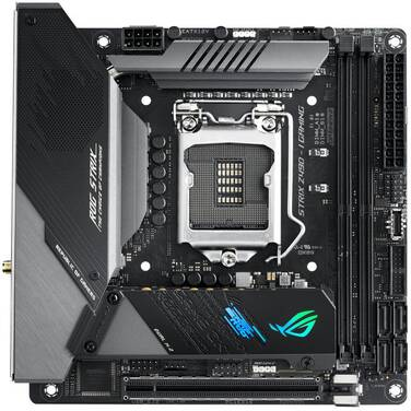 ASUS S1200 Mini-ITX ROG STRIX Z490-I GAMING DDR4 Motherboard