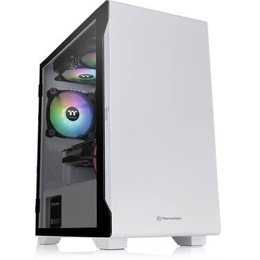 Thermaltake MicroATX S100 Snow Edition Tempered Glass Case CA-1Q9-00S6WN-00 (No PSU)