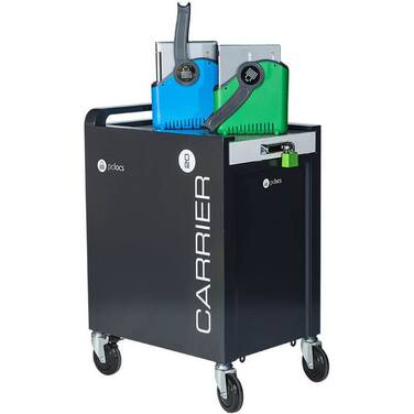 PC Locs Carrier 20 Cart Notebook/Chromebook & Tablet Charging Trolley PCL8-10130