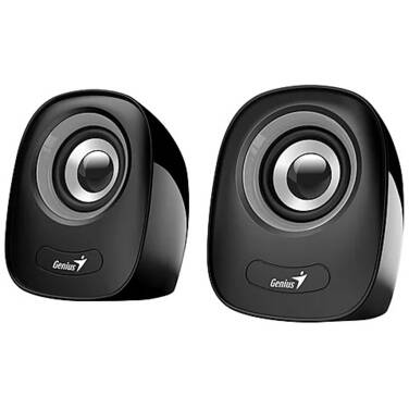 Genius SP-Q160 Grey/Black 3.5mm 6W 2.0 Speakers