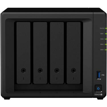 4 Bay Synology DS420+ Gigabit NAS Unit