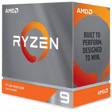 AMD AM4 Ryzen 9 3900XT 12 Core 3.8GHz CPU (No Heatsink) 100-100000277WOF