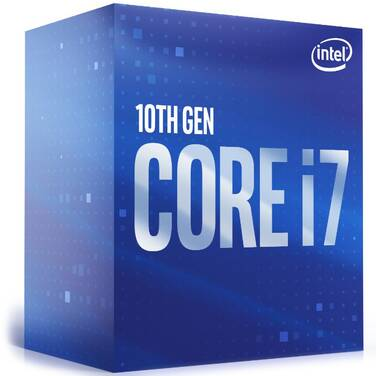 Intel S1200 Core i7 10700KF 3.8GHz 8 Core CPU BX8070110700KF (No Integrated Graphics or Heatsink)