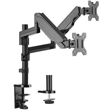 17-32 Brateck LDT16-C024 Dual Monitor Full Extension Gas Spring Dual Monitor Independent Arm