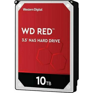 10TB WD 3.5 SATA 6Gb/s Red HDD WD101EFAX
