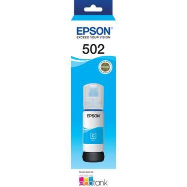 Epson T502 Cyan EcoTank Bottle PN E502C